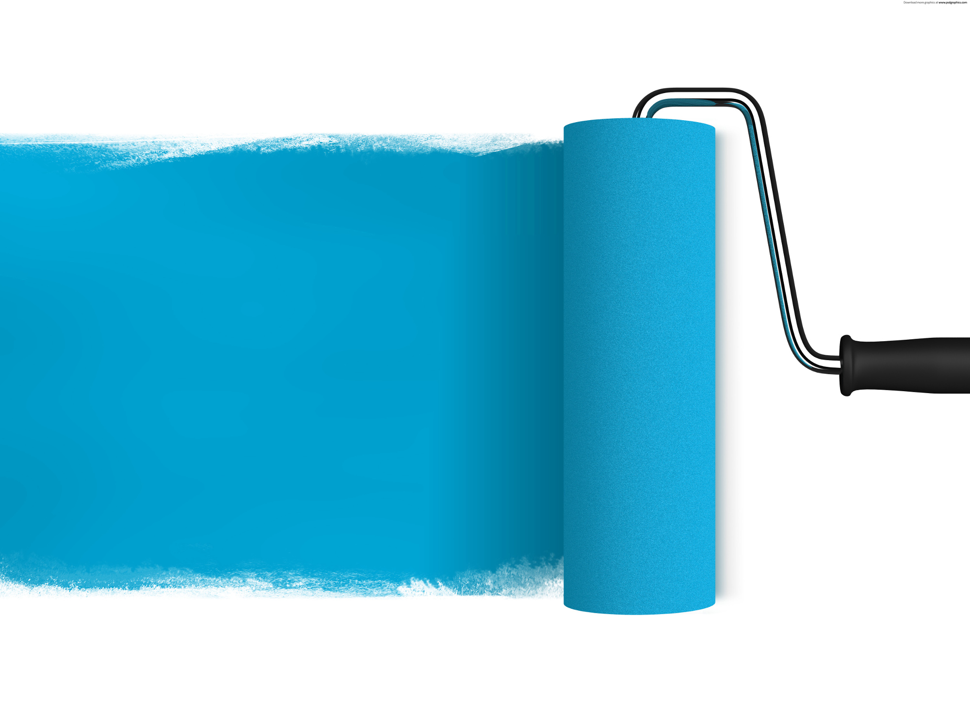 paint roller brush png